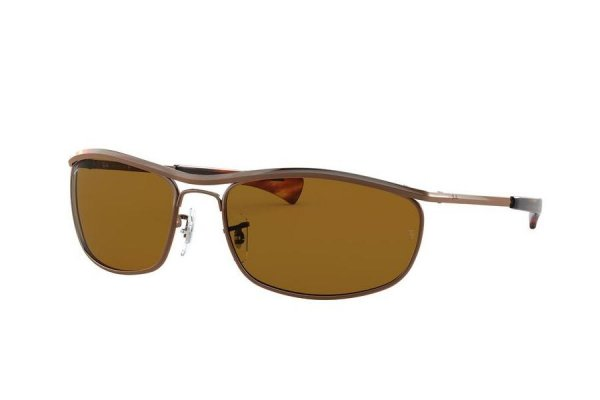 Очки Ray-Ban Olympian I Deluxe RB3119M-9181-33 Brown | Natural Brown