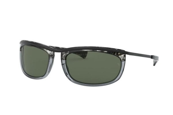 Очки Ray-Ban Olympian I RB2319-1286-R5 Black / Transparent Grey | Dark Blue