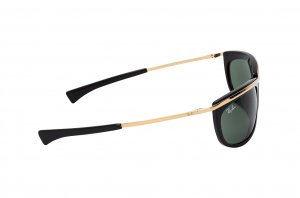 Очки Ray-Ban Olympian I RB2319-901-31 Black / Arista | Natural Green