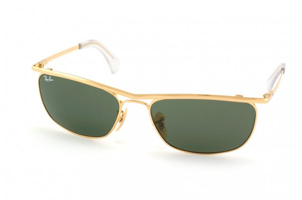 Очки Ray-Ban Olympian II Deluxe RB3385-001 Arista/Natural Green (G-15XLT)