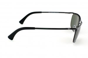 Очки Ray-Ban Olympian II Deluxe RB3385-002 Black | Natural Green (G-15XLT)