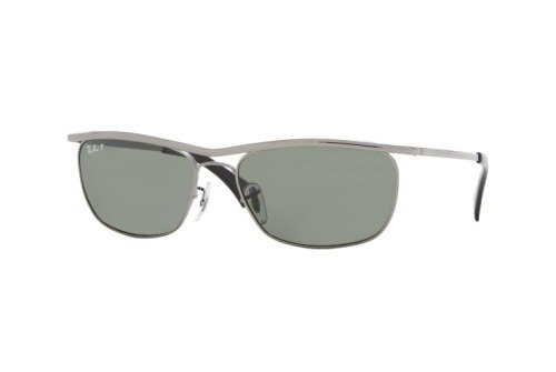 Очки Ray-Ban Olympian II Deluxe RB3385-004-58 Gunmetal | Natural Green Polarized