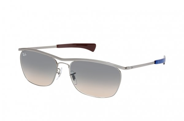 Очки Ray-Ban Olympian II Deluxe RB3619-004-32 Gunmetal | Light Grey Gradient