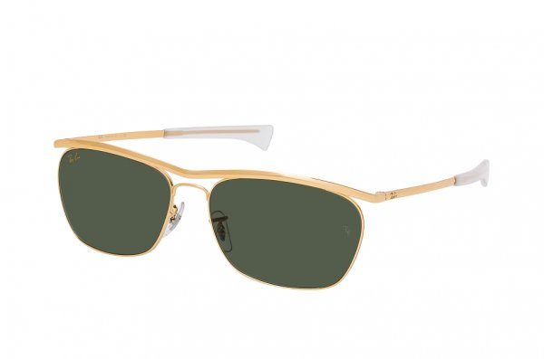 Очки Ray-Ban Olympian II Deluxe RB3619-9196-31 Arista | Natural Green