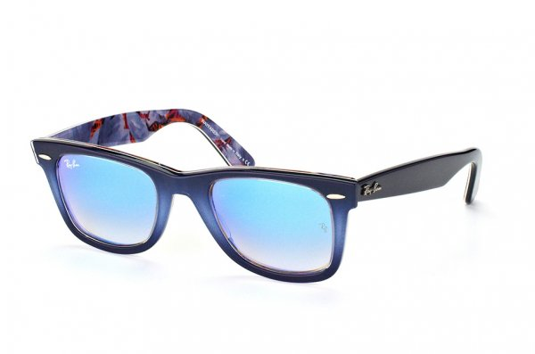 Очки Ray-Ban Original Wayfarer Color Mix RB2140-1198-4O Blue / Gradient Blue Mirror