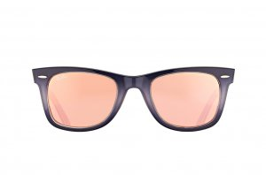 Очки Ray-Ban Original Wayfarer Color Mix RB2140-1201-Z2 Grey Violet / Pink Mirror