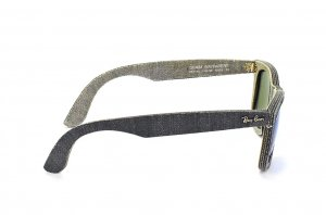 Очки Ray-Ban Original Wayfarer Denim RB2140-1192-68 Jeans Dark Grey/Grey| Blue Mirror