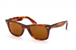 Очки Ray-Ban Original Wayfarer Distressed RB2140-1186 Brown Well-Worn /Natural Brown (B-15XLT)