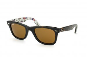 Очки Ray-Ban Original Wayfarer London RB2140-1119 Avana/Texture London | Natural Brown (B-15XLT)