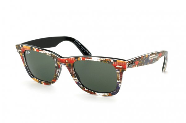 Очки Ray-Ban Original Wayfarer Music RB2140-1121 Music | Natural Green (G-15XLT)