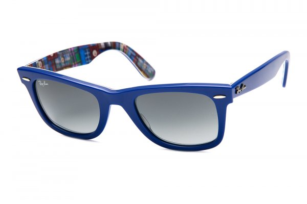 Очки Ray-Ban Original Wayfarer Patchwork RB2140-1134-71 Blue/Patchwork | Grey/Green