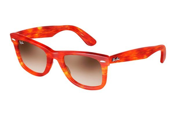 Очки Ray-Ban Original Wayfarer RB2140-1043-51 Striped Orange | Faded Brown