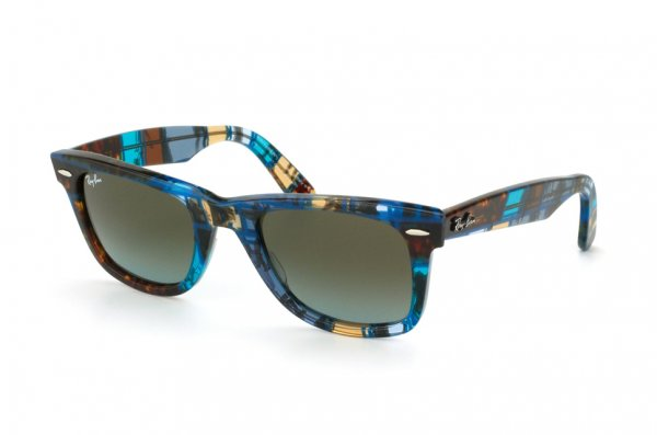 Очки Ray-Ban Original Wayfarer RB2140-1107-96 Avana Grey | Blue Faded Brown