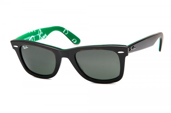 Очки Ray-Ban Original Wayfarer RB2140-1110 Dark Havana | Natural Green (G-15XLT)