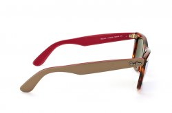 Очки Ray-Ban Original Wayfarer RB2140-1178-30 Havana/Beige/Red| Light Blue Mirrored