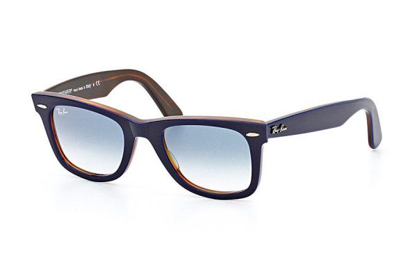 Очки Ray-Ban Original Wayfarer RB2140-1278-3F Blue / Brown | Sky Blue Gradient