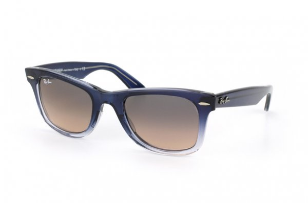 Очки Ray-Ban Original Wayfarer RB2140-822-N1 Blue Faded Transparent/Grey Faded Pink Gradient