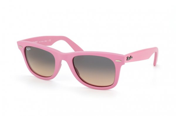 Очки Ray-Ban Original Wayfarer RB2140-885-N1 Matte Pink/Grey Faded Pink Gradient