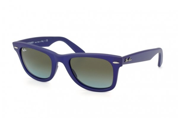 Очки Ray-Ban Original Wayfarer RB2140-887-96 Matte Blue | Brown Faded Blue