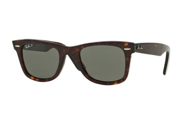 Очки Ray-Ban Original Wayfarer RB2140-902-58 Dark Havana | Natural Green Polarized