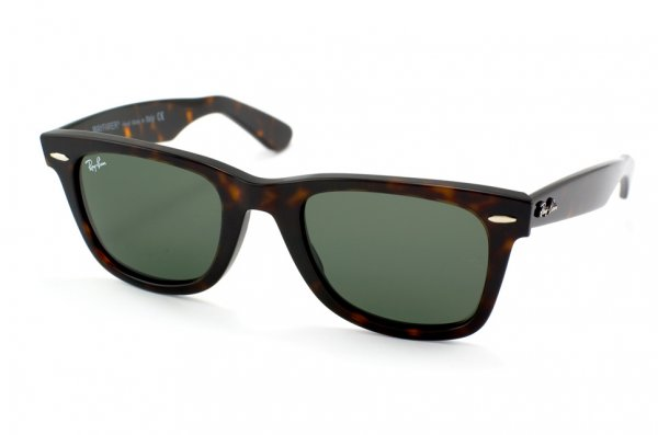 Очки Ray-Ban Original Wayfarer RB2140-902 Dark Havana | Natural Green (G-15 XLT)