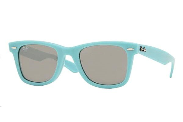 Очки Ray-Ban Original Wayfarer RB2140-962-40 Matt Blue |  G-31 Mirror