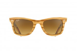 Очки Ray-Ban Original Wayfarer Surf Up RB2140-1138-85 Light Wood On Texture Surf | Brown Faded Yellow