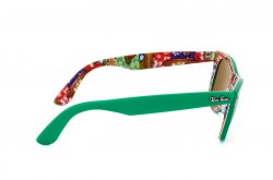Очки Ray-Ban Original Wayfarer Surf Up RB2140-1140 Green On Texture Surf | Natural Brown (B-15XLT)