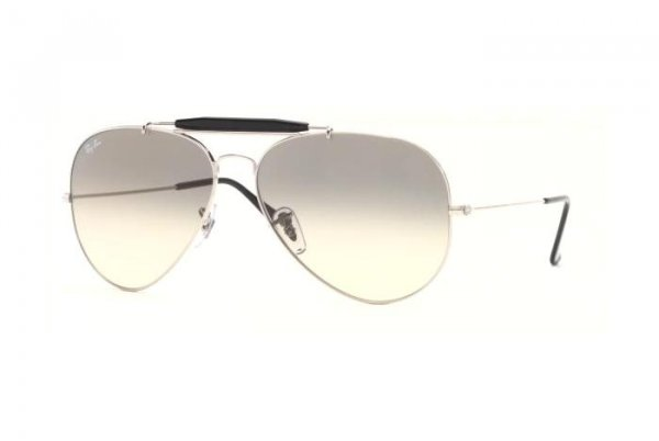 Очки Ray-Ban Outdoorsman II RB3029-003-32 Silver/Gradient Grey
