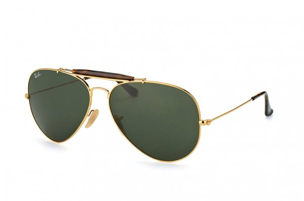 Очки Ray-Ban Outdoorsman II RB3029-181 Arista/Havana | Natural Green (G-15XLT)
