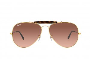 Очки Ray-Ban Outdoorsman II RB3029-9001-A5 Dark Arista/Havana |  Faded Brown