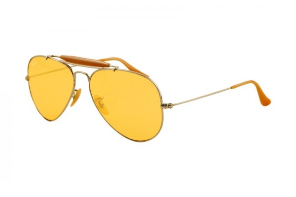 Очки Ray-Ban Outdoorsman II Rainbow RB3407-003-4A Silver | Ambermatic
