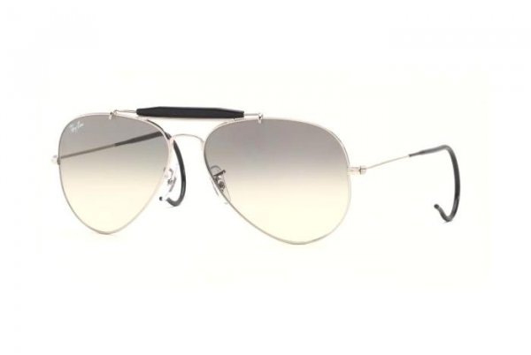 Очки Ray-Ban Outdoorsman RB3030-003-32 Silver | Gradient Grey