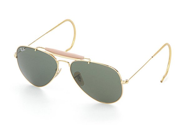 Очки Ray-Ban Outdoorsman RB3030-L0216 Arista/Natural Green (G-15XLT)