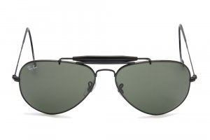Очки Ray-Ban Outdoorsman RB3030-L9500 Black/Natural Green (G-15XLT)