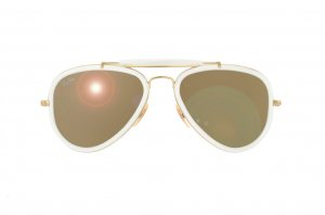 Очки Ray-Ban Outdoorsman Road Spirit RB3428-001-3K Arista/Brown Mirror Silver Faded Gradient