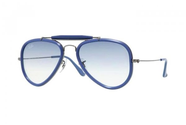 Очки Ray-Ban Outdoorsman Road Spirit RB3428-004-3F Gunmetal | Light Blue Gradient