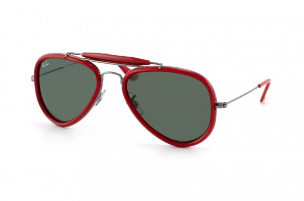 Очки Ray-Ban Outdoorsman Road Spirit RB3428-004 Gunmetal/Red/Natural Green (G-15XLT)