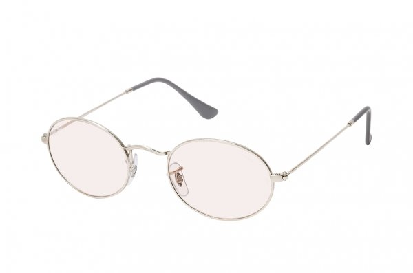 Очки Ray-Ban Oval-Evolve RB3547-003-T5 Silver | Light Pink