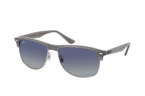Очки Ray-Ban Oversized Clubmaster RB4342-6429-4L Transparent Grey | Blue Gradient