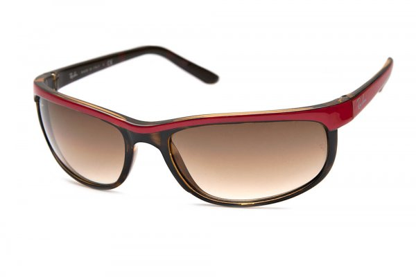 Очки Ray-Ban Predator 2 RB2027-786-51 Red/Havana | Faded Brown
