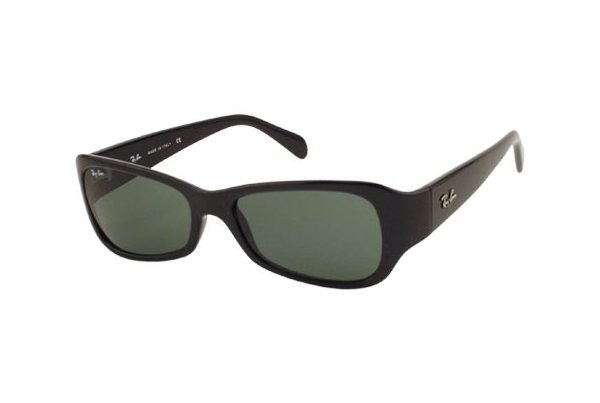 Очки Ray-Ban Predator J RB2116-901 Black | Natural Green (G-15XLT)