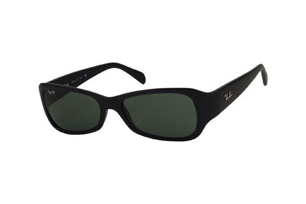 Очки Ray-Ban Predator J RB2116-901S Matt Black | Natural Green (G-15XLT)