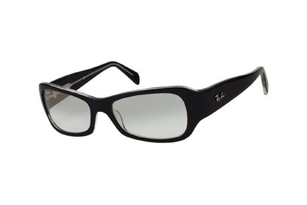 Очки Ray-Ban Predator J RB2116-919-3G Black/Transparent | White GSM
