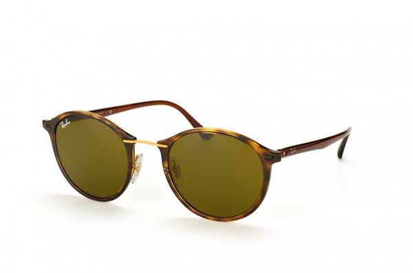 Очки Ray-Ban Round II LightRay RB4242-710-73 Brown| APX Brown
