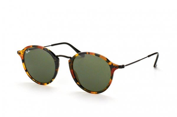Очки Ray-Ban Round Icons Fleck RB2447-1157 Havana/Black | Green/Grey