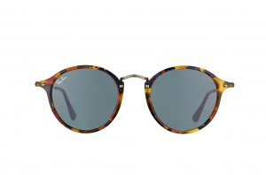 Очки Ray-Ban Round Icons Fleck RB2447-1158-R5 Havana/Gunmetal | Dark Blue