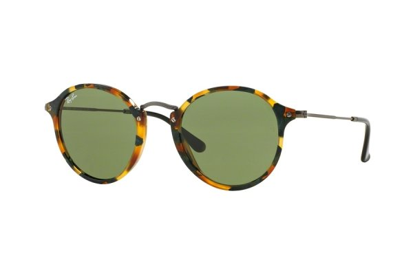 Очки Ray-Ban Round Icons Fleck RB2447-1159-4E Havana/Gunmetal | Natural Green