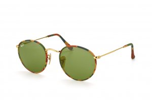 Очки Ray-Ban Round Metal Camouflage RB3447JM-168-4E Arista/ Camouflage |  Natural Green