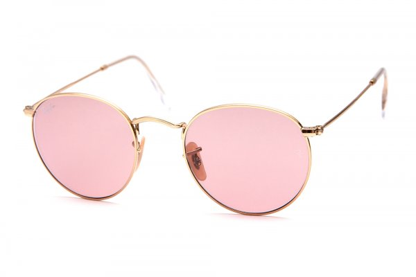 Очки Ray-Ban Round Metal RB3447-001-4B Arista/Pink
